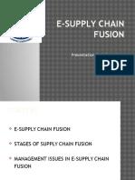 E-supply Chain Fusion