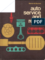 Auto Service and Repair - Martin W. Stockel