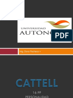 Test CATTELL 16 PF