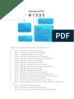 Códigos de erro tipo B OBD II(2)