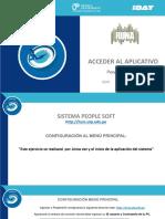 Manual Para Acceder Al Sistema People Soft