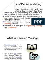 Nature of IT Decisions