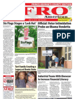 Prince George's County Afro-American Newspaper, May 22, 2010