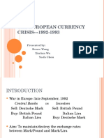 European Currency Crisis 1992-1993