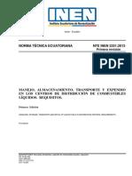 MANEJO, ALMACENAMIENTO, TRANSPORTE Y EXPENDIO EN LOS CENTROS DE DISTRIBUCIÓN DE COMBUSTIBLES LÍQUIDOS. REQUISITOS.