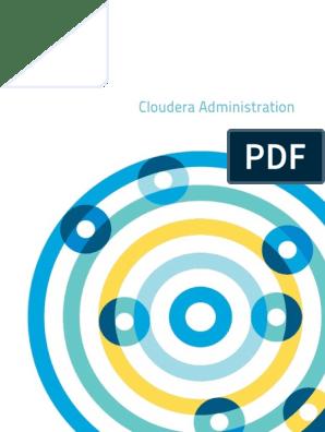 cloudera-administration pdf   Apache Hadoop   Trademark