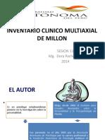 Inventario Clinico Multiaxial de Millon