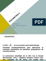 Psicometria II SCL-90