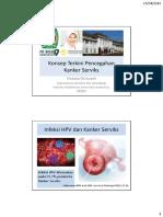 Pencegahan Kanker Serviks