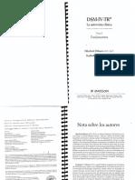 Othmer & Othmer. DSM IV. Tomo I. La Entrevista Clinica. Fundamentos