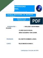 Proyecto Aplicativo - Pcm -Telecomunicaciones II