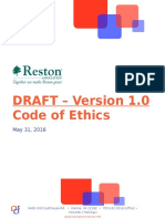 DRAFT - RA Code of Ethics Version 1.0 for Public Circulation