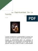 La Espiritualidad en La Familia