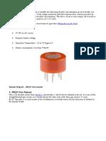 Alcohol Sensor