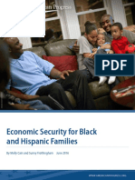Economic Security for Black and Hispanic Families