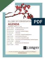 formal agenda  ell day 2016