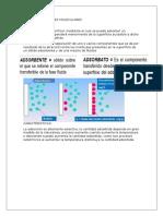 Adsorción y Tamices Moleculares