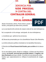 Comisión Nacional Anticorrupción acusa al Contralor y Fiscal CASO DHRUVS