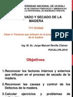 Preservado y Secado Madera Clase4 2016 I JMRCH