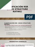 Clasificación RSR