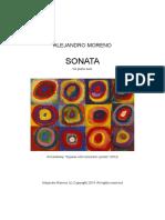 Sonata Alejandro  Moreno
