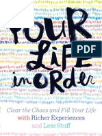 Your Life, In Order Brochure