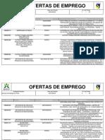 Serviços de Emprego Do Grande Porto- Ofertas Ativas a 20 de Junho de 2016