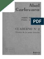 Aber Carlevaro - Cuaderno 2- Mano Derecha (Esp)