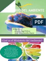 Ministerio Del Ambiente ppt