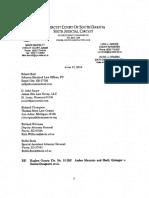 Amber Mauricio and Shelli Grinager v. Dennis Daugaard, et. al