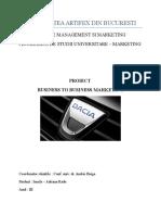 Proiect B2B - Dacia
