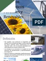 Recursos Energéticos Renovables PPT