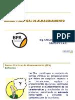 BPA en Bodegas PGC