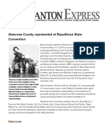 Atascosa County Represented at Republican State Convention _ Www.pleasantonexpress