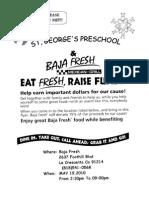 Baja Fresh Fundraiser