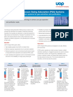 Uop Polybed Psa for Gas Extraction Purification Datasheet