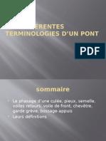 Les Différentes Terminologies d'Un Pont