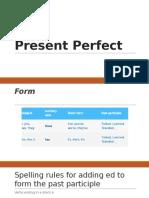 Present Perfect Ingles