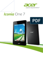 Acer Iconia One 7 User Manual Acer 1.0 a a Ptb