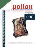 Revista Apollon Nr. 39 - Ce e Omul in Viziunea Parintelui Daniil Sandu Tudor