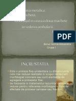 Erori Incrustatie,Macheta -