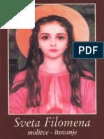 Sveta Filomena - Molitve - Stovanje