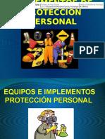 Equipos e Implementos de Protección Personal
