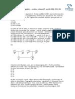 Lista de Exercicios de Genetica 2º Semi de 2006 28-11-06