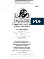 (EW609) -Pocket Welding Guidsse - A Guide to Better Welding-Hobart Institute of Welding Technology [Yasser Tawfik]