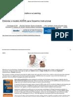 Entenda o Modelo ADDIE Para Desenho Instrucional _ Clarity Solutions