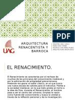 Arquitectura Renacentista y Barroca