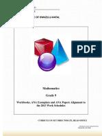Gr 9 Booklet