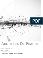 auditoria forense fraude