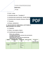 Seccion de Aprendizaje Claudia 3